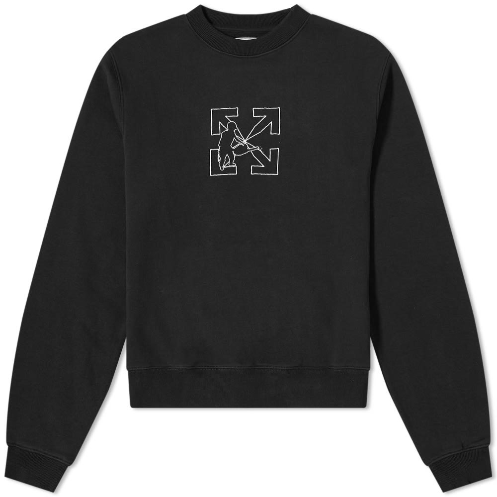 Photo: Off-White Arrow Workers Crew Sweat
