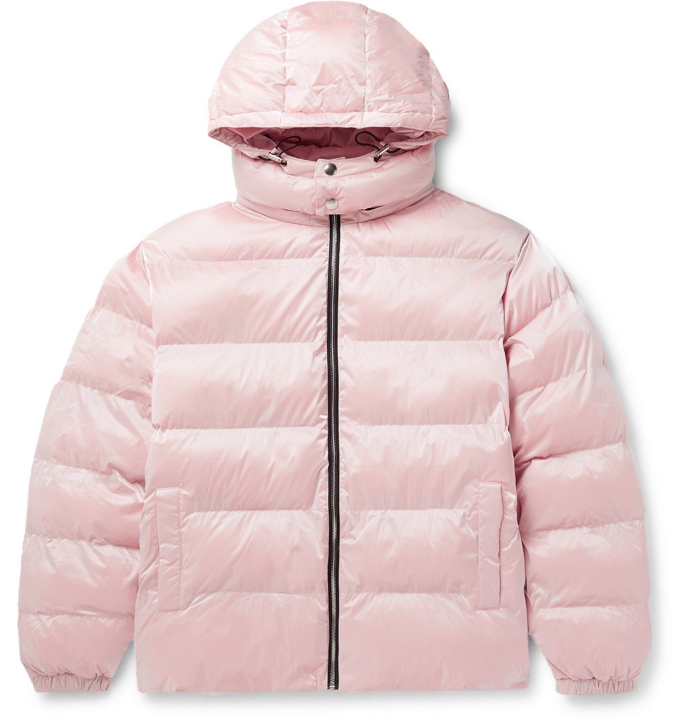 Photo: 1017 ALYX 9SM - Nightrider Quilted Shell Hooded Jacket - Pink