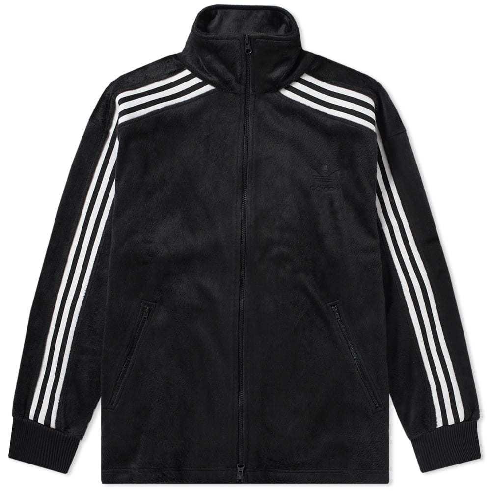 Adidas Velour BB Track Top Black
