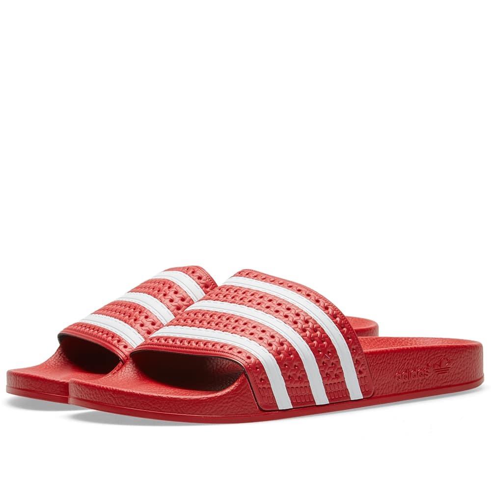 Adidas Adilette Red