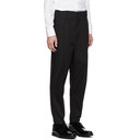 3.1 Phillip Lim Black Cropped Pleated Trousers