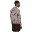 3.1 Phillip Lim Tan Floral Palm Tree Sweater