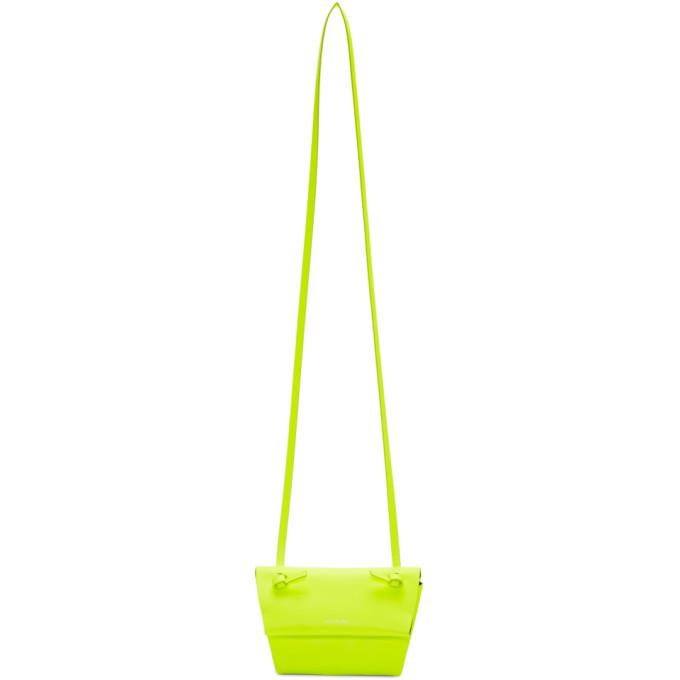 Photo: Acne Studios Yellow Mini Crossbody Bag