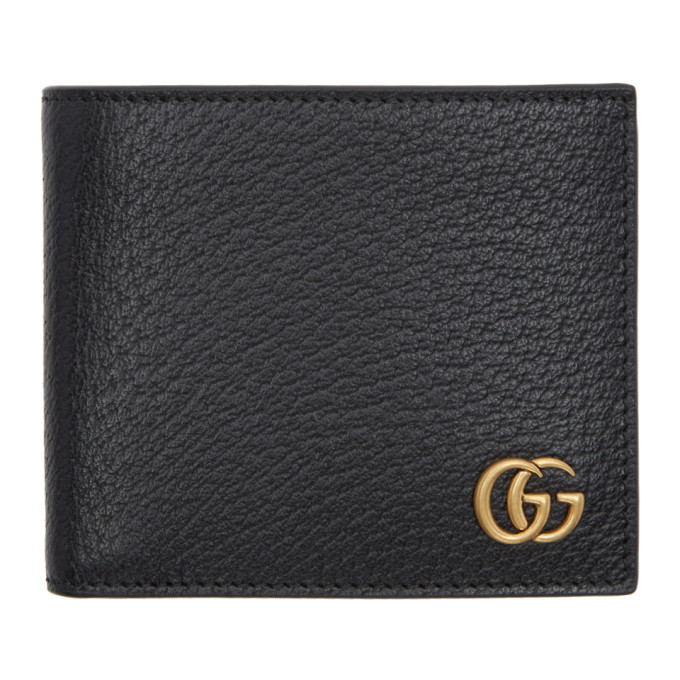 Photo: Gucci Black GG Marmont Bifold Wallet
