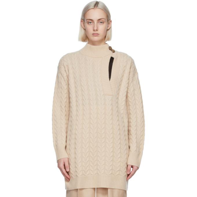 Photo: Max Mara Beige Wool and Cashmere Medea Sweater
