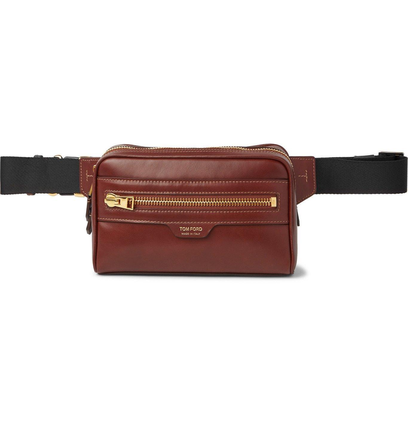 Photo: TOM FORD - Leather Belt Bag - Brown