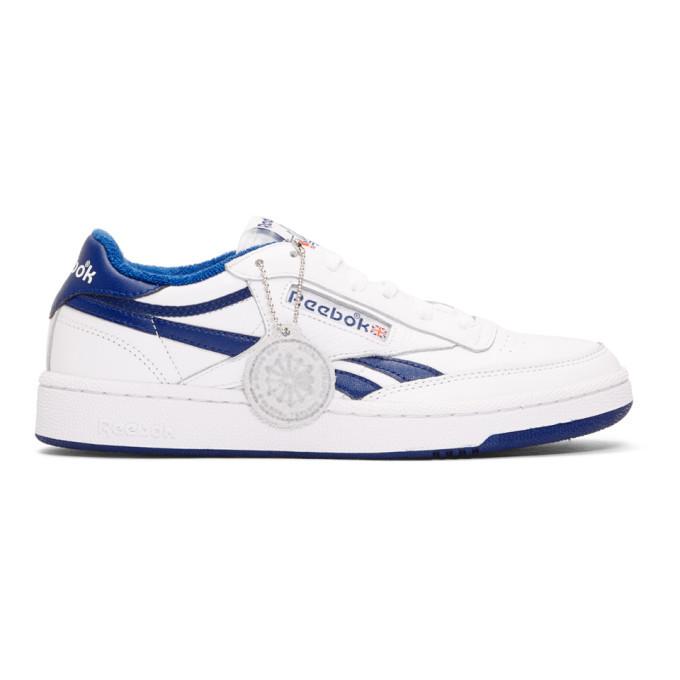 Photo: Reebok Classics White Revenge Plus MU Sneakers