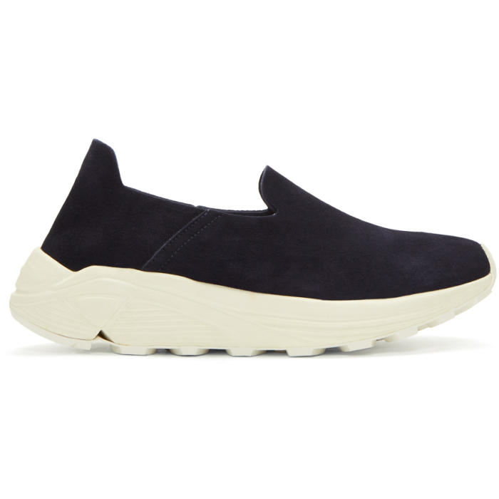 Diemme Black Suede One Slip-On Sneakers SMJEqk