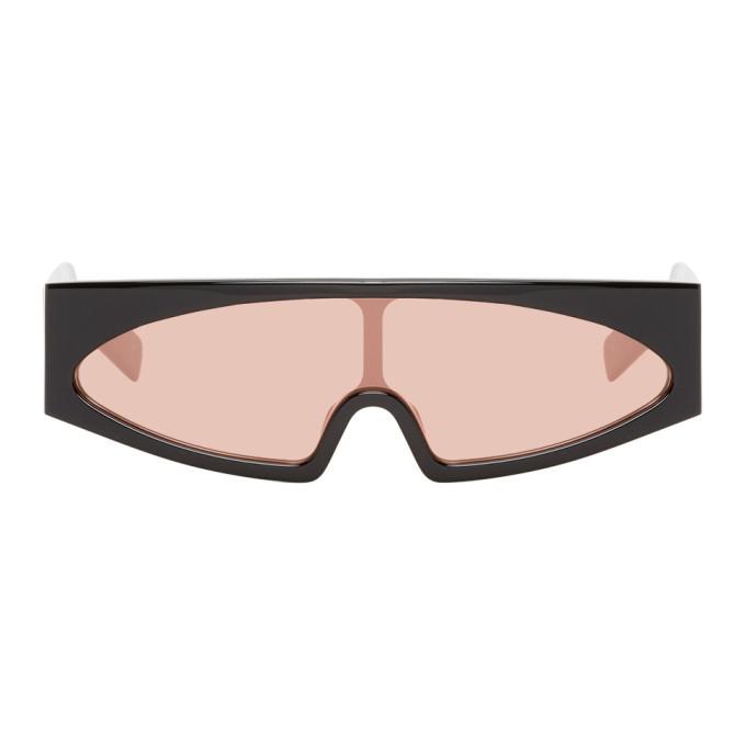 Photo: Rick Owens Black and Pink Kiss Sunglasses