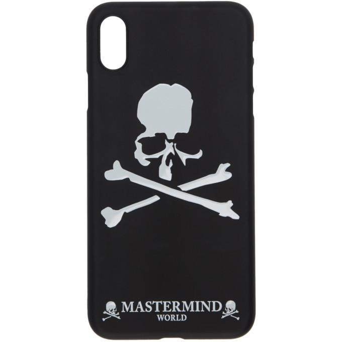 Photo: mastermind WORLD Black Logo iPhone XS Max Case