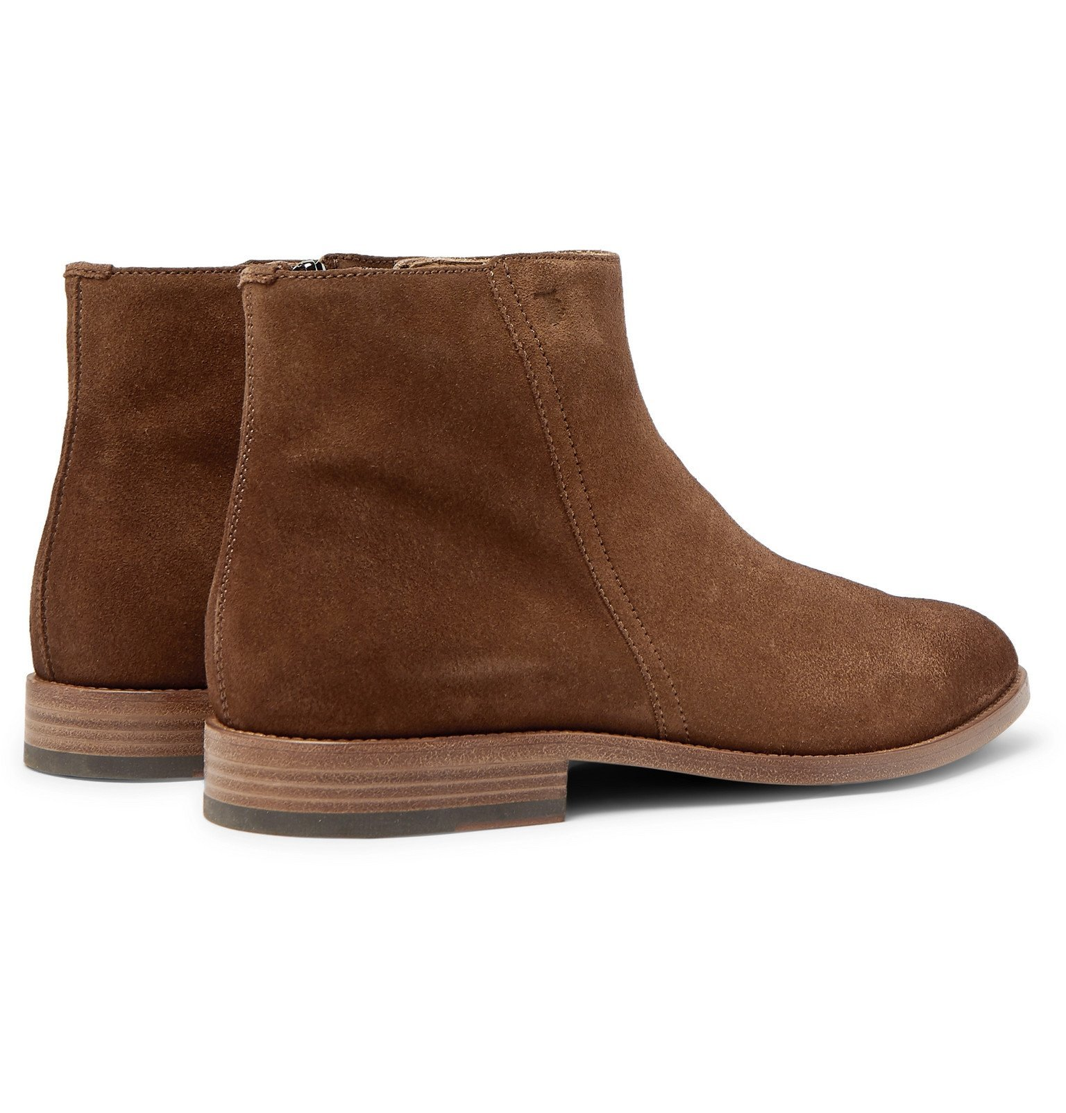 Tod's - Suede Boots - Brown
