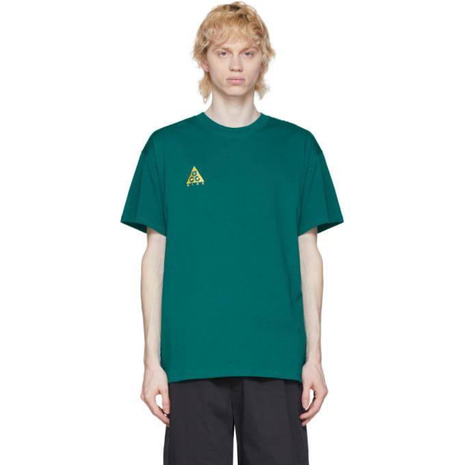 Photo: Nike ACG Green Logo T-Shirt