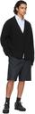 Dunhill Navy Cotton Utility Shorts