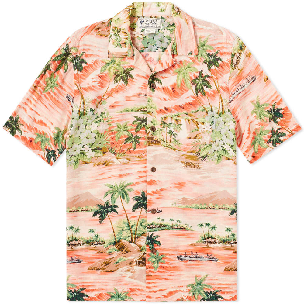 Photo: RRL Aloha Camp Vacation Shirt