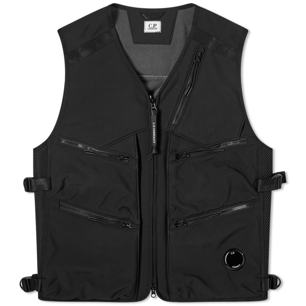 Photo: C.P. Company Tactical Soft Shell Utility Vest