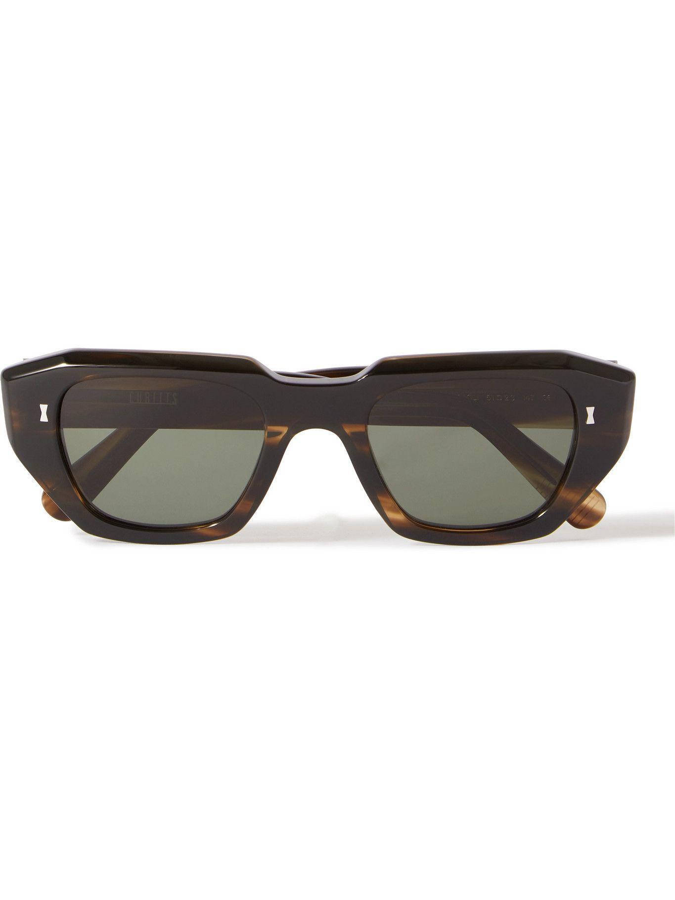 Photo: Cubitts - Sackville Square-Frame Tortoiseshell Acetate Sunglasses