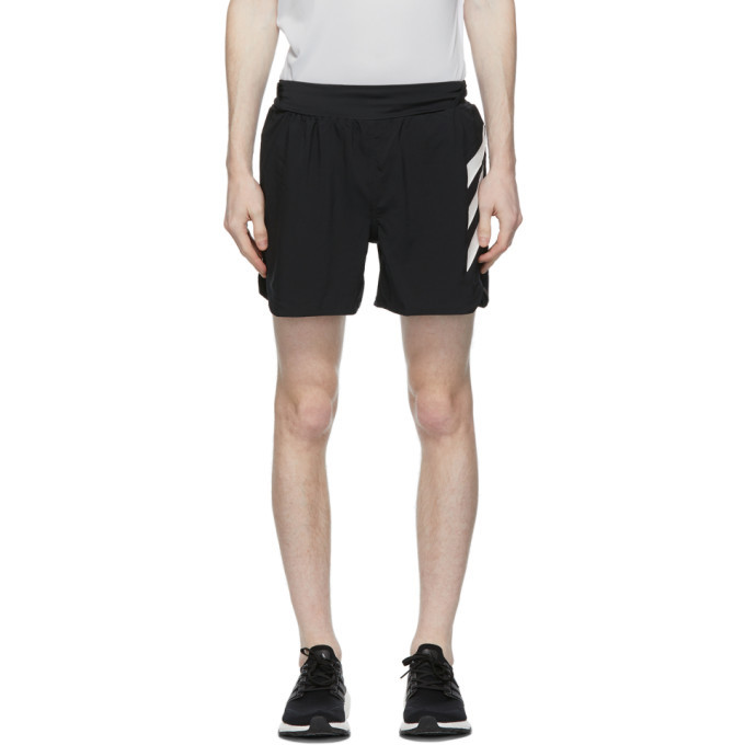 Photo: adidas Originals Black Parley Edition Terrex Agravic All-Around Shorts