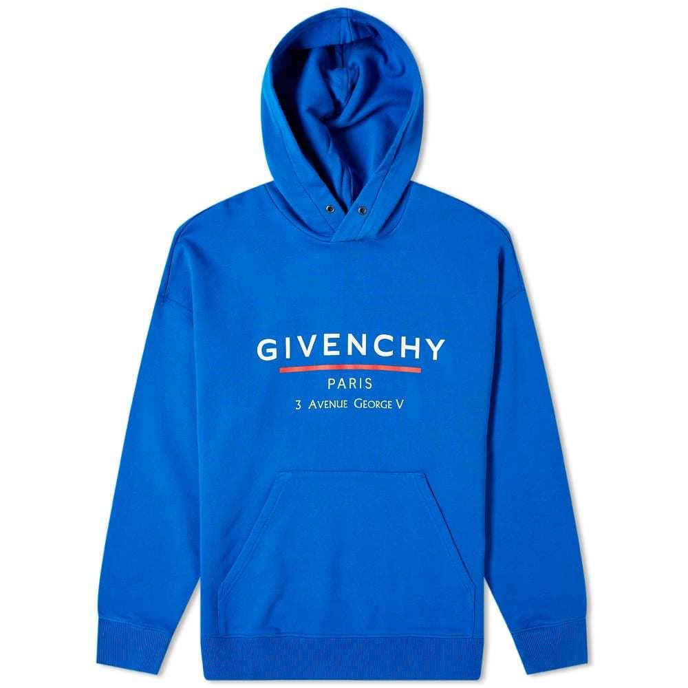 Photo: Givenchy Address Logo Hoody