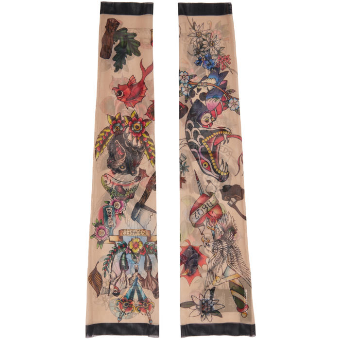 Photo: Dsquared2 Multicolor Tattoo Sleeves