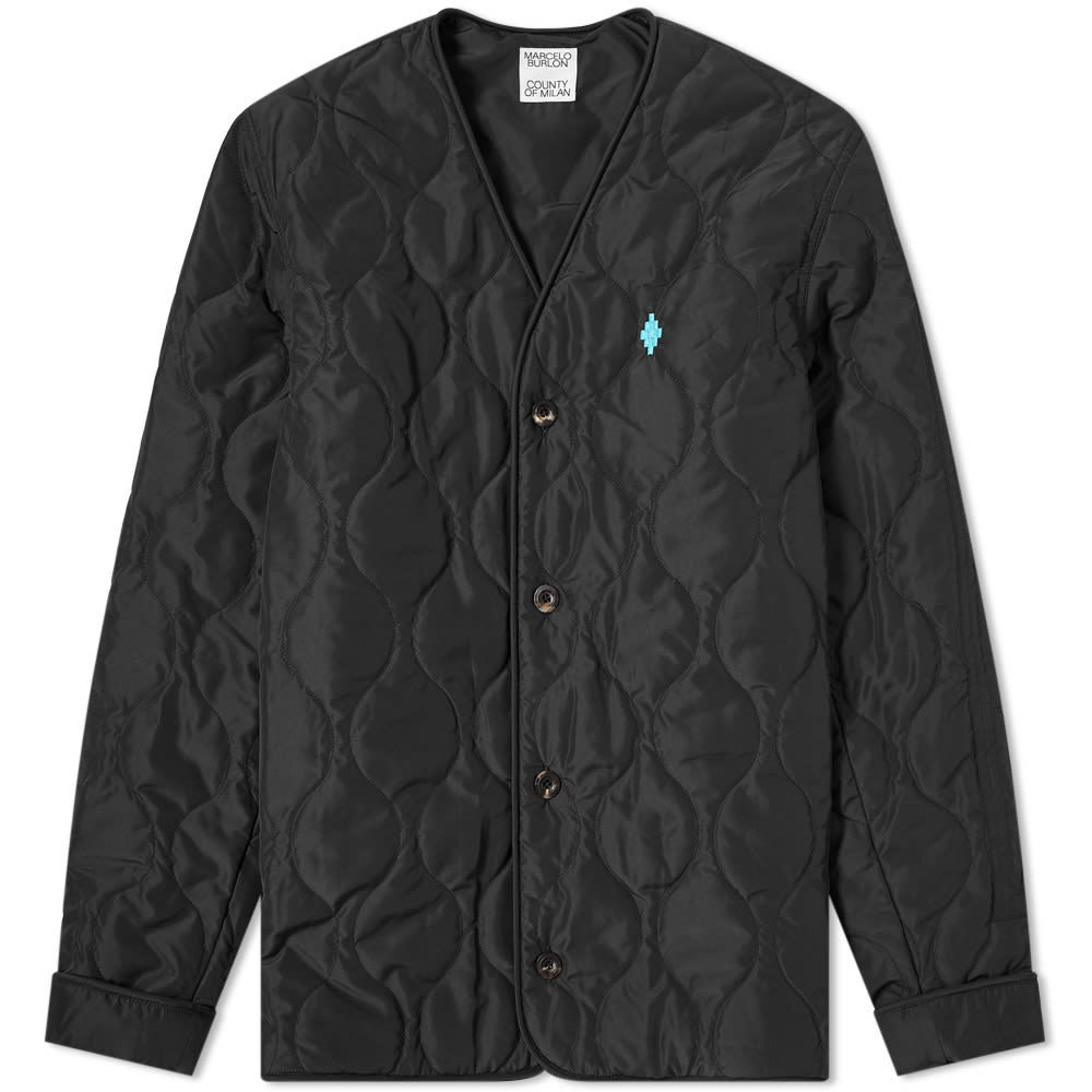 Photo: Marcelo Burlon Cross Nylon Liner Jacket