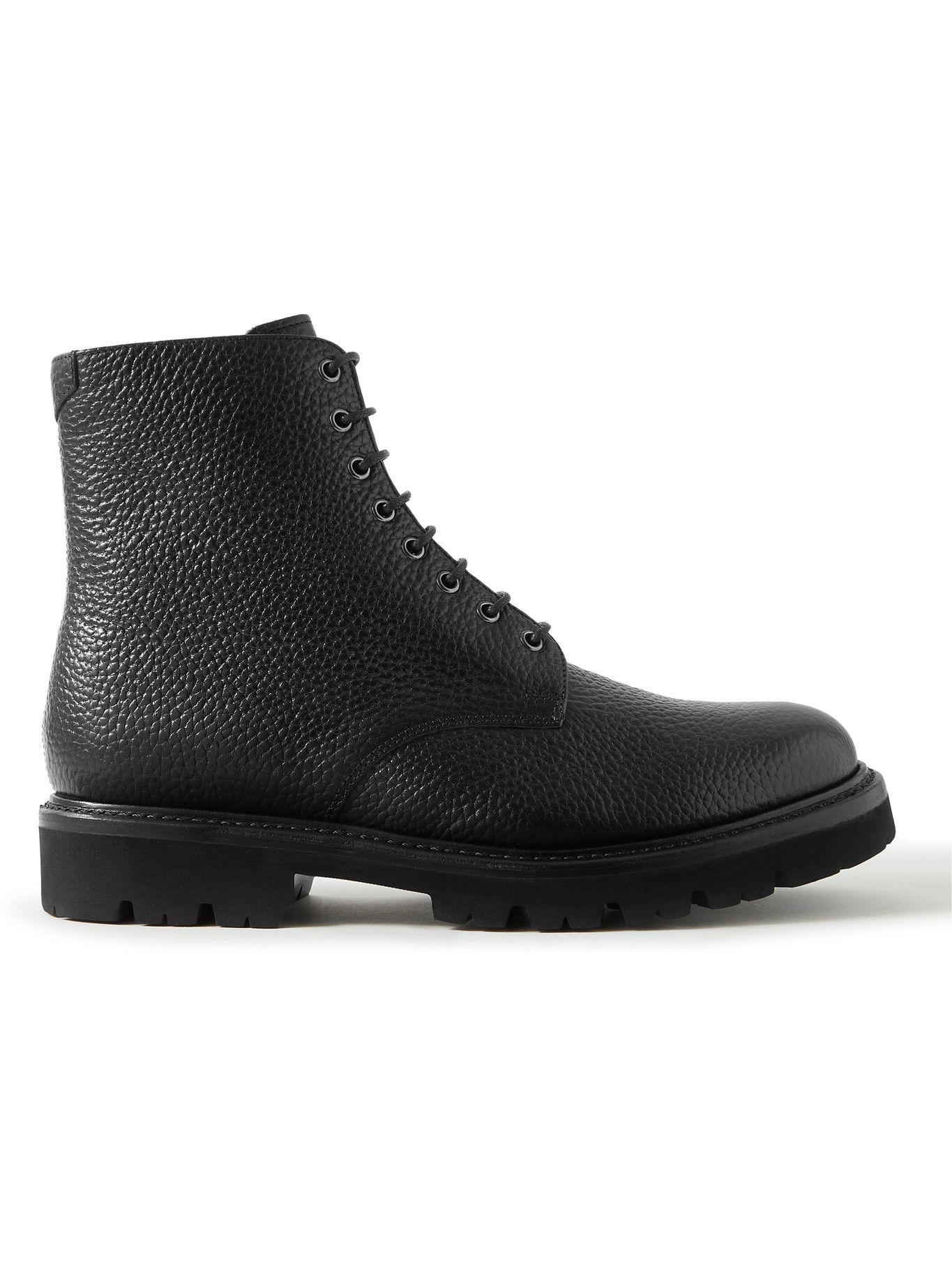 Photo: Grenson - Hadley Full-Grain Leather Boots - Black