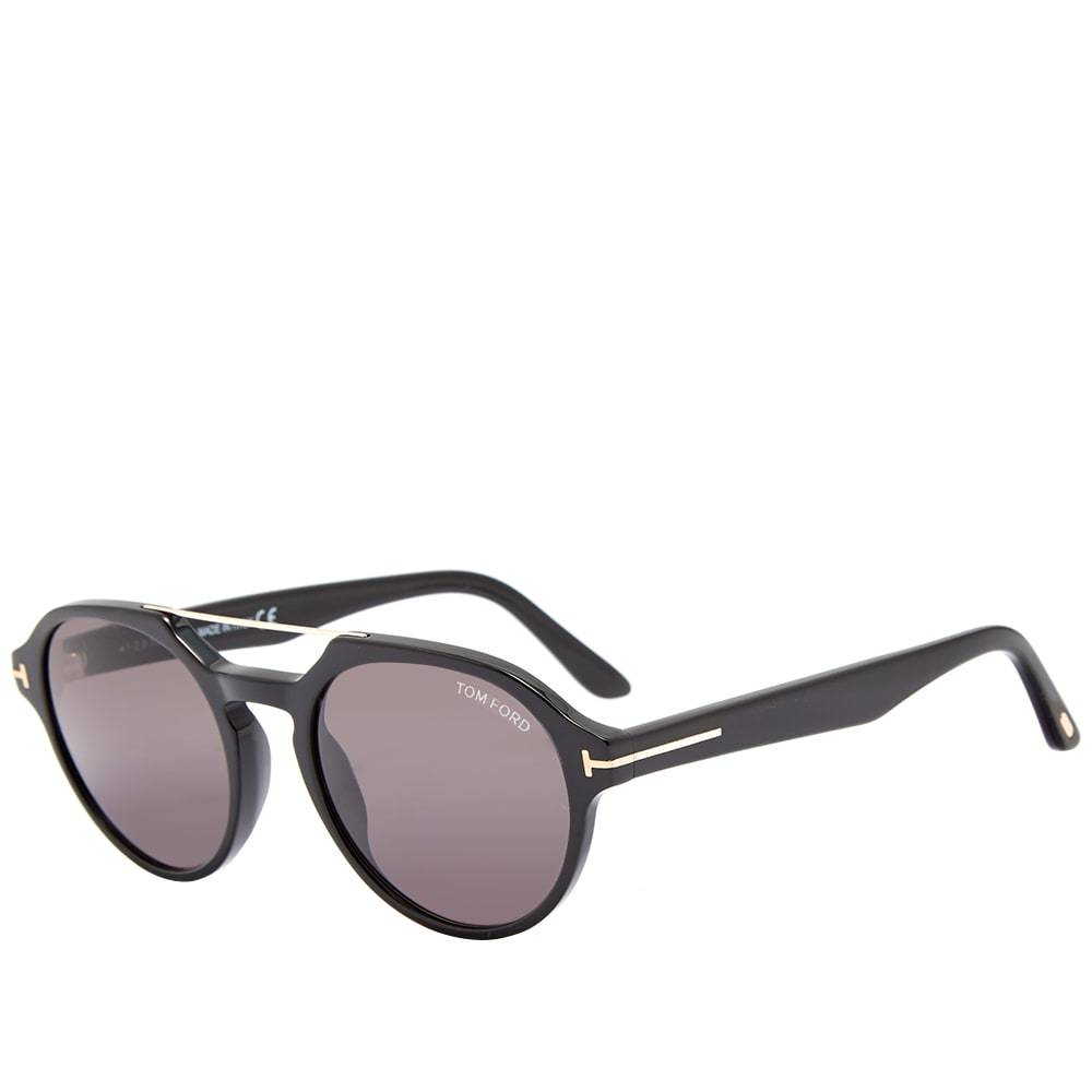 8d2f582f696d Tom Ford Gunmetal and Black Magnetic Clip-On FT5476 Glasses TOM FORD