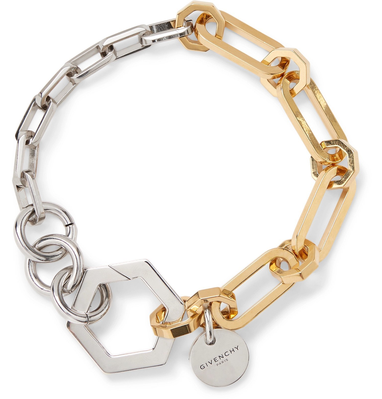 Photo: Givenchy - Silver and Gold-Tone Bracelet - Gold