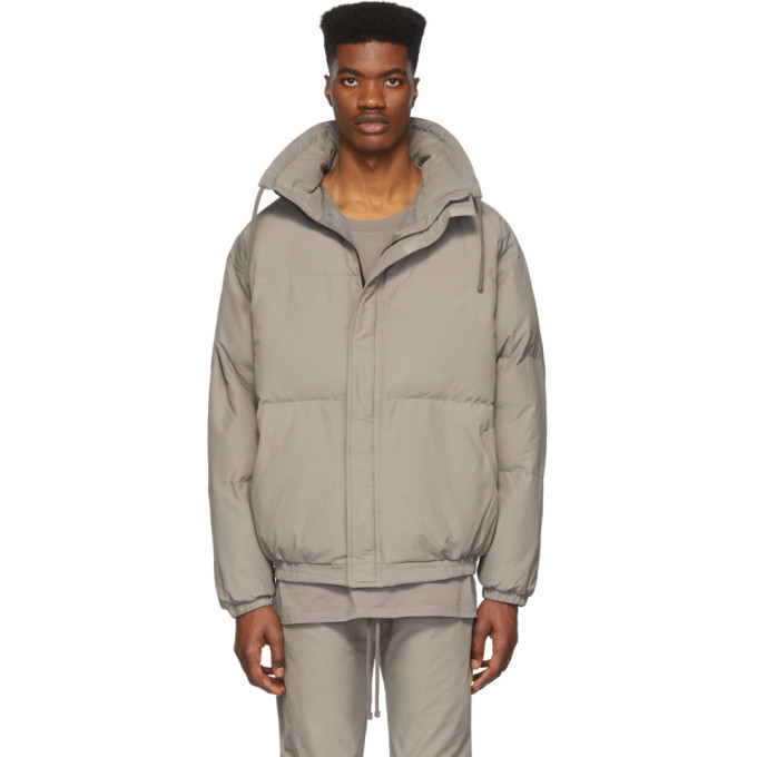 Photo: Essentials Grey Puffer Jacket