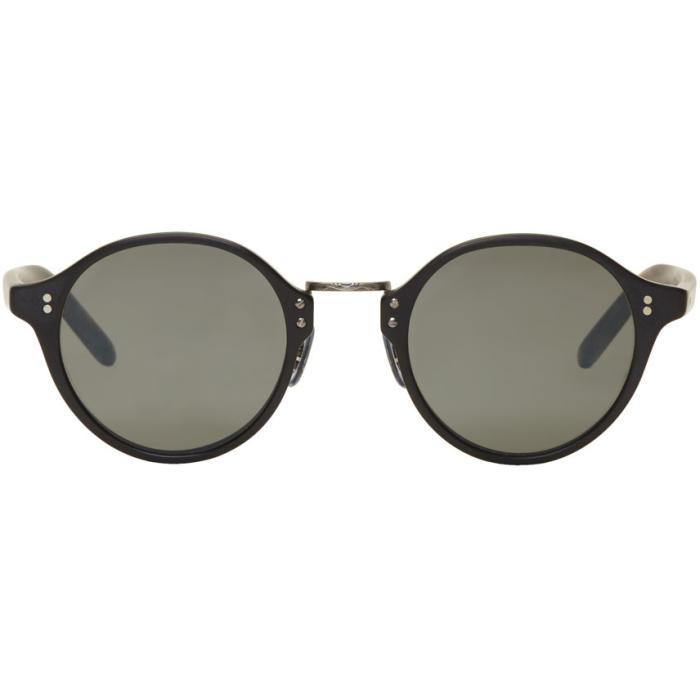 Oliver Peoples Black Vintage OP-1955 Sunglasses