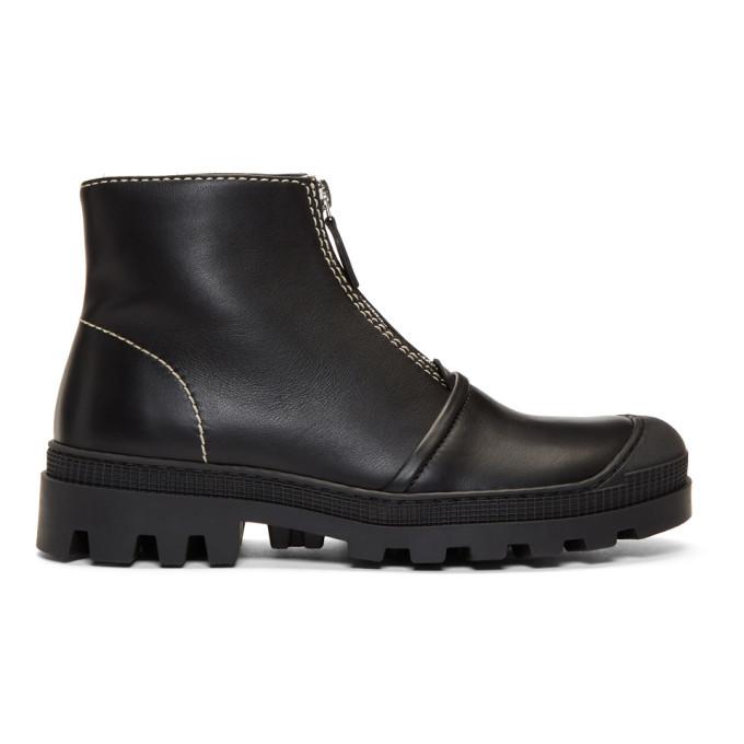 Photo: Loewe Black Zip Boots