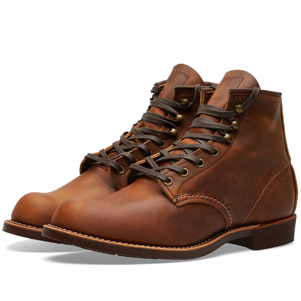 "Photo: Red Wing 3343 Heritage Work 6"" Blacksmith Boot Brown"