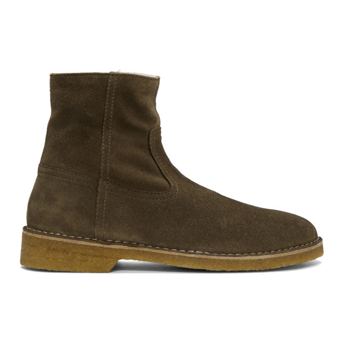 Photo: Isabel Marant Taupe Clann Boots