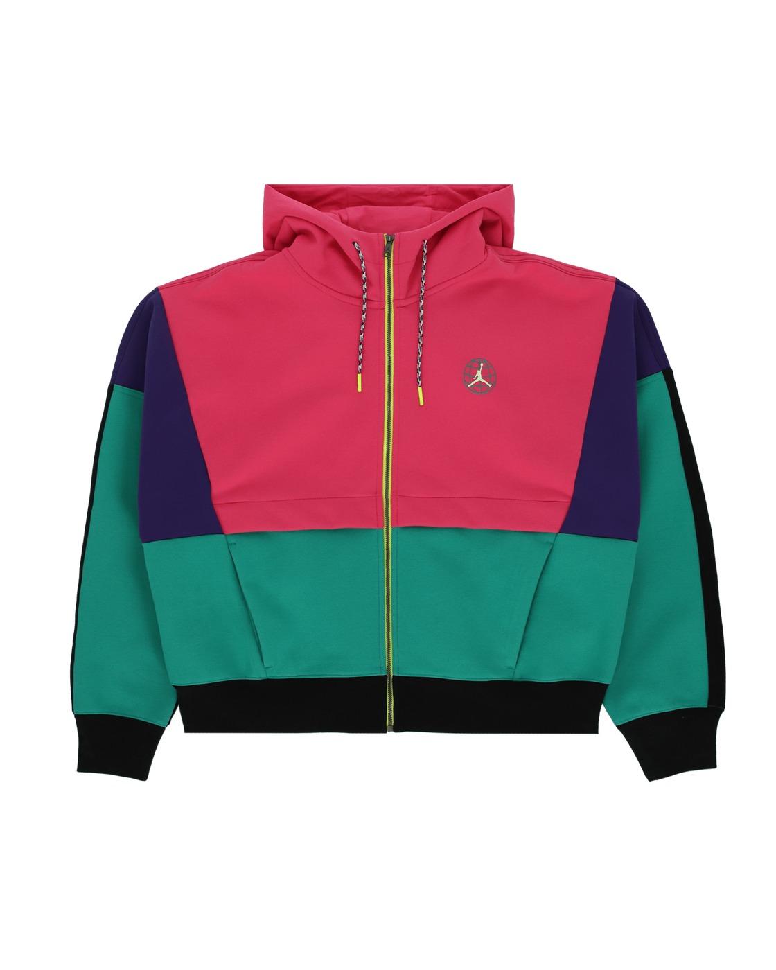 Nike Jordan Winter Utility Hooded Sweatshirt Watermelon/Court Purple