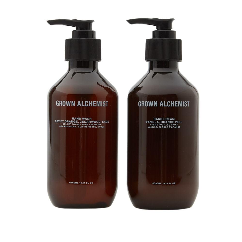 Photo: Grown Alchemist Hand Wash & Hand Cream Set