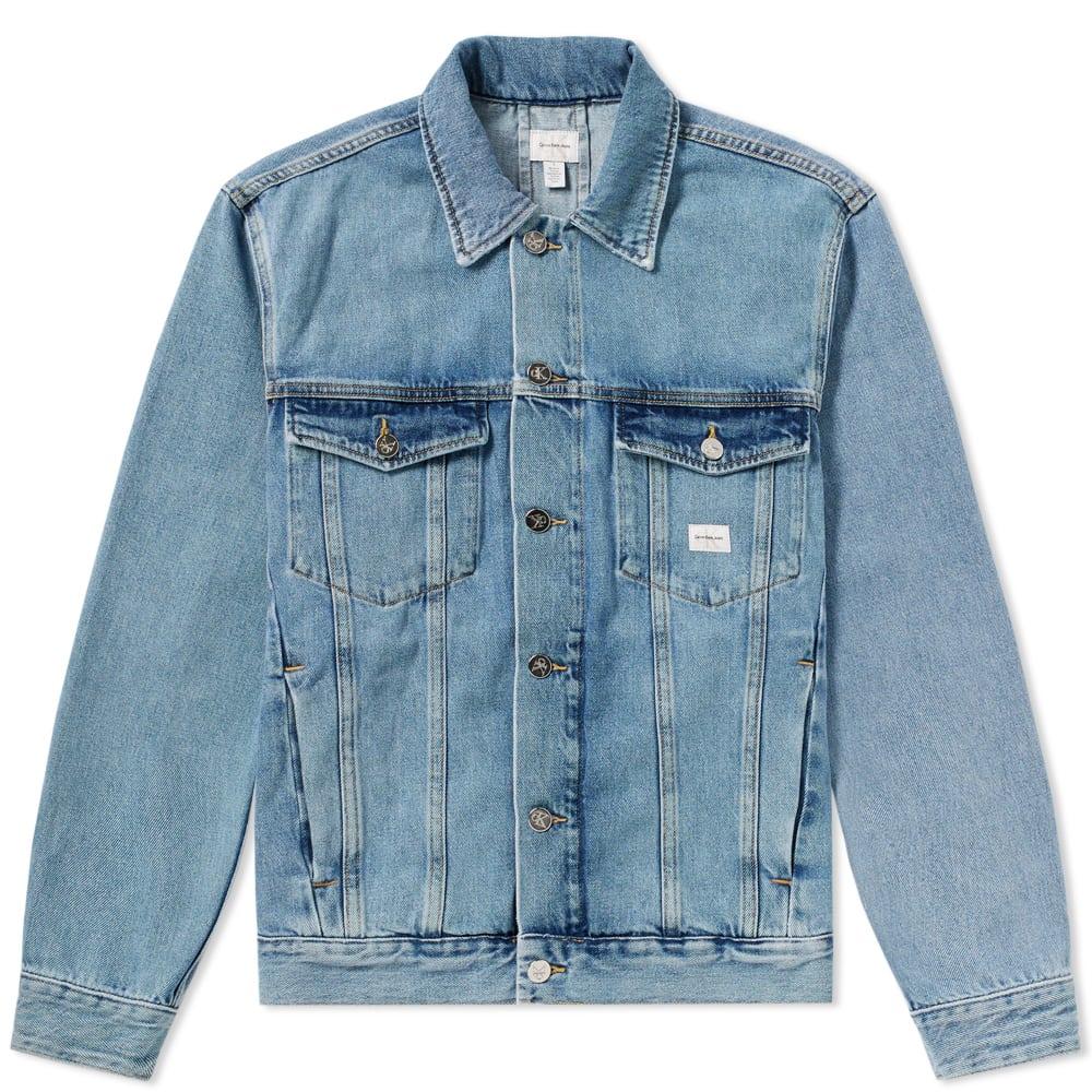 Photo: Calvin Klein Jeans Trucker Denim Jacket