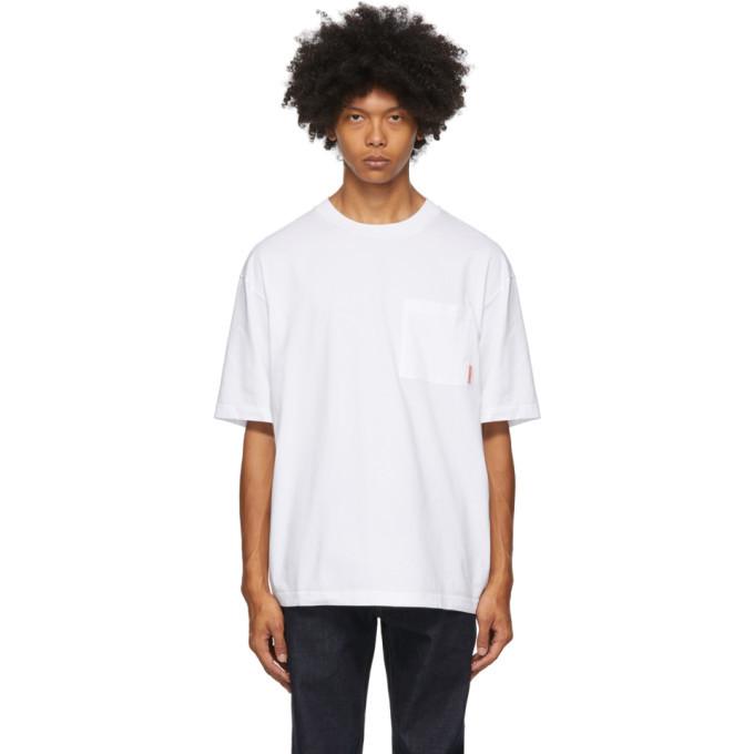 Photo: Acne Studios White Pocket T-Shirt