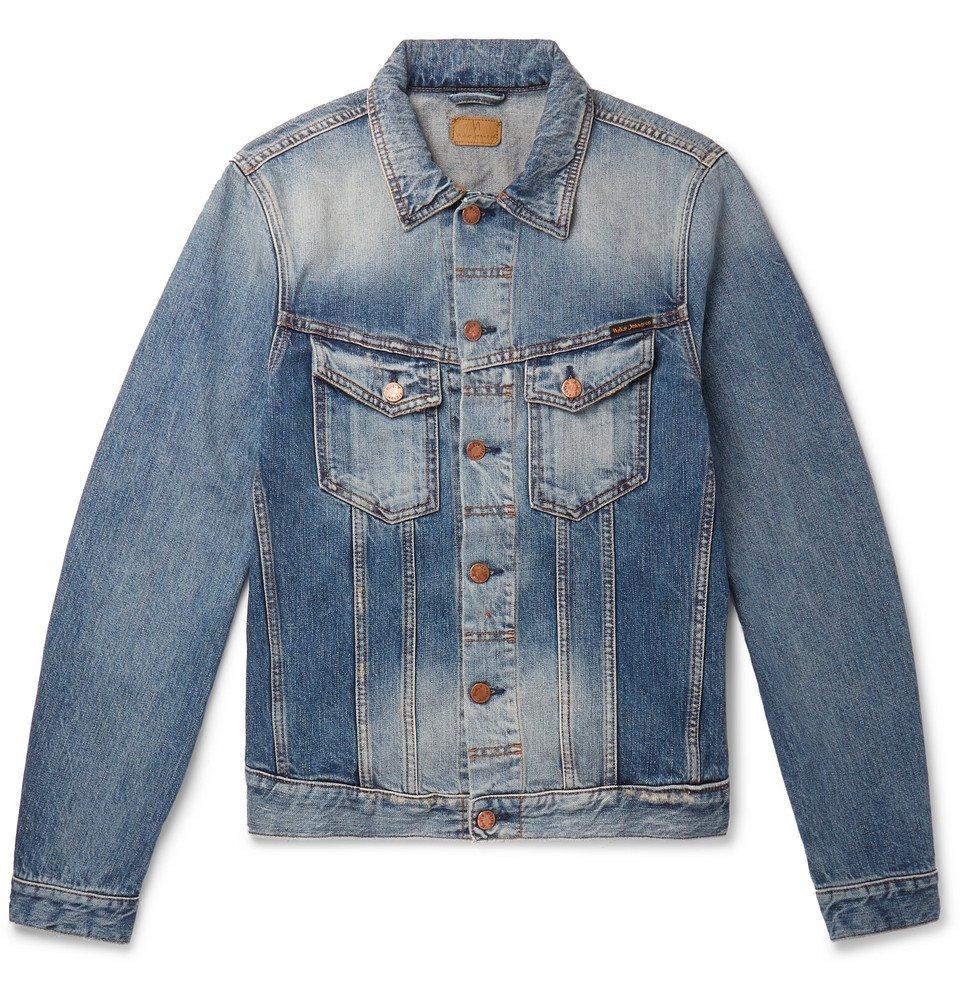 Photo: Nudie Jeans - Billy Slim-Fit Organic Denim Jacket - Blue
