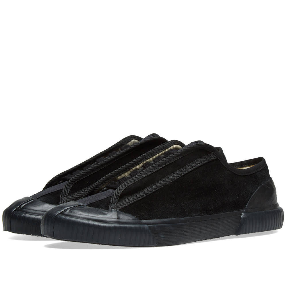 Photo: Grenson x Craig Green Low Top Suade Sneaker Black Suede