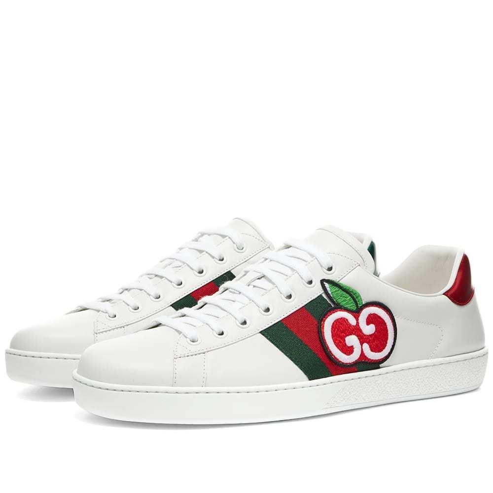 Photo: Gucci Apple Logo New Ace Sneaker