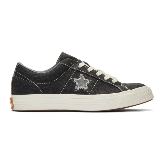 Photo: Converse Black One Star Ox Sneakers