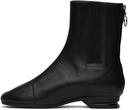 Raf Simons Black 2001 Zip-Up Boots