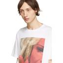 Raf Simons White Mother On Phone T-Shirt