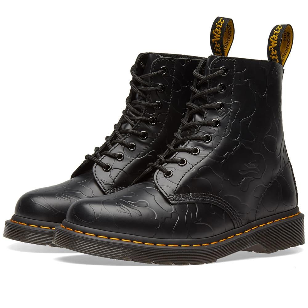 Photo: Dr. Martens x Bape Emboss Camo 1460 Boot