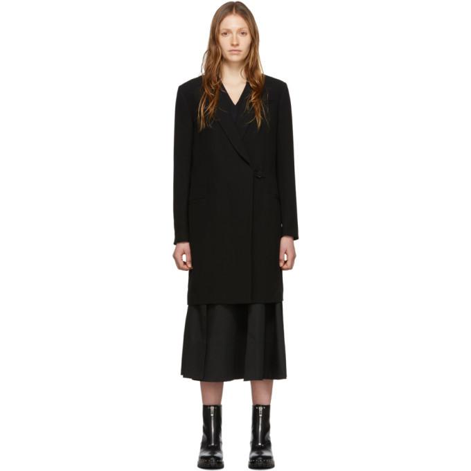 3.1 Phillip Lim Black Overlay Coat