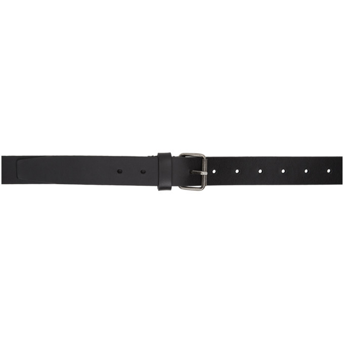 Photo: VETEMENTS Black Gothic Logo Belt