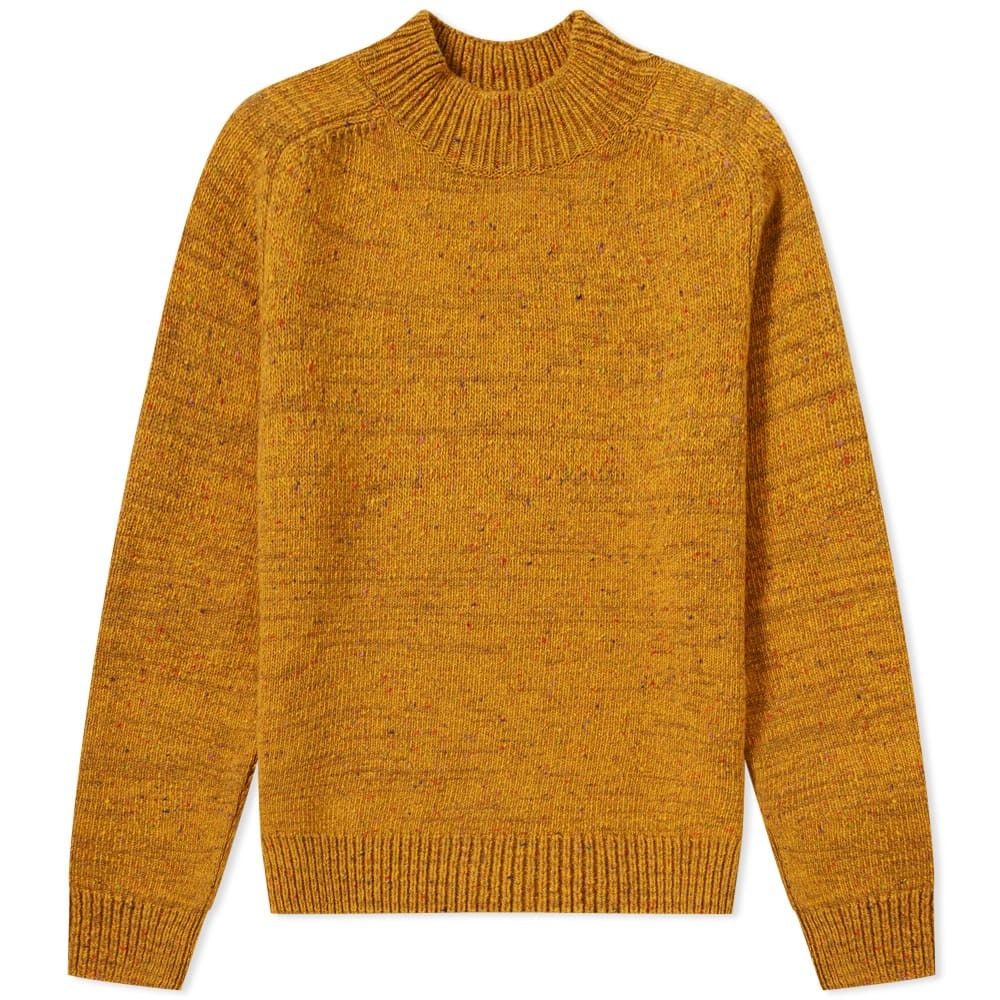 Photo: Norse Projects Viggio High Neck Neps Crew Knit