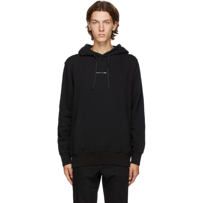 Photo: 1017 ALYX 9SM Black A Sphere Logo Hoodie