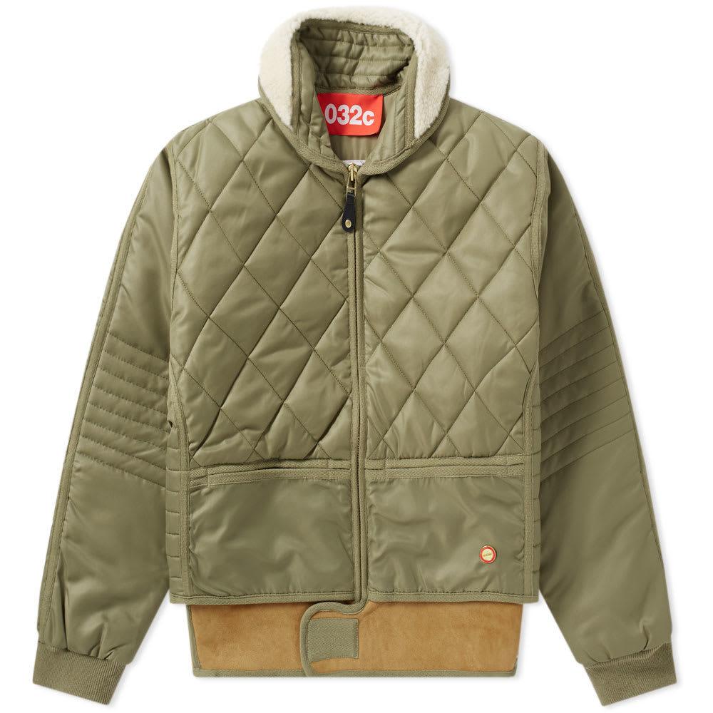 032c x Chevignon Cosmo Jacket Green