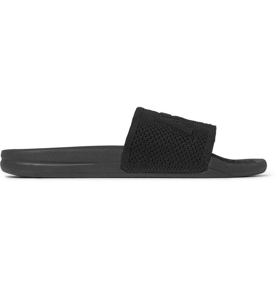 Photo: APL Athletic Propulsion Labs - TechLoom Logo-Embossed Slides - Black