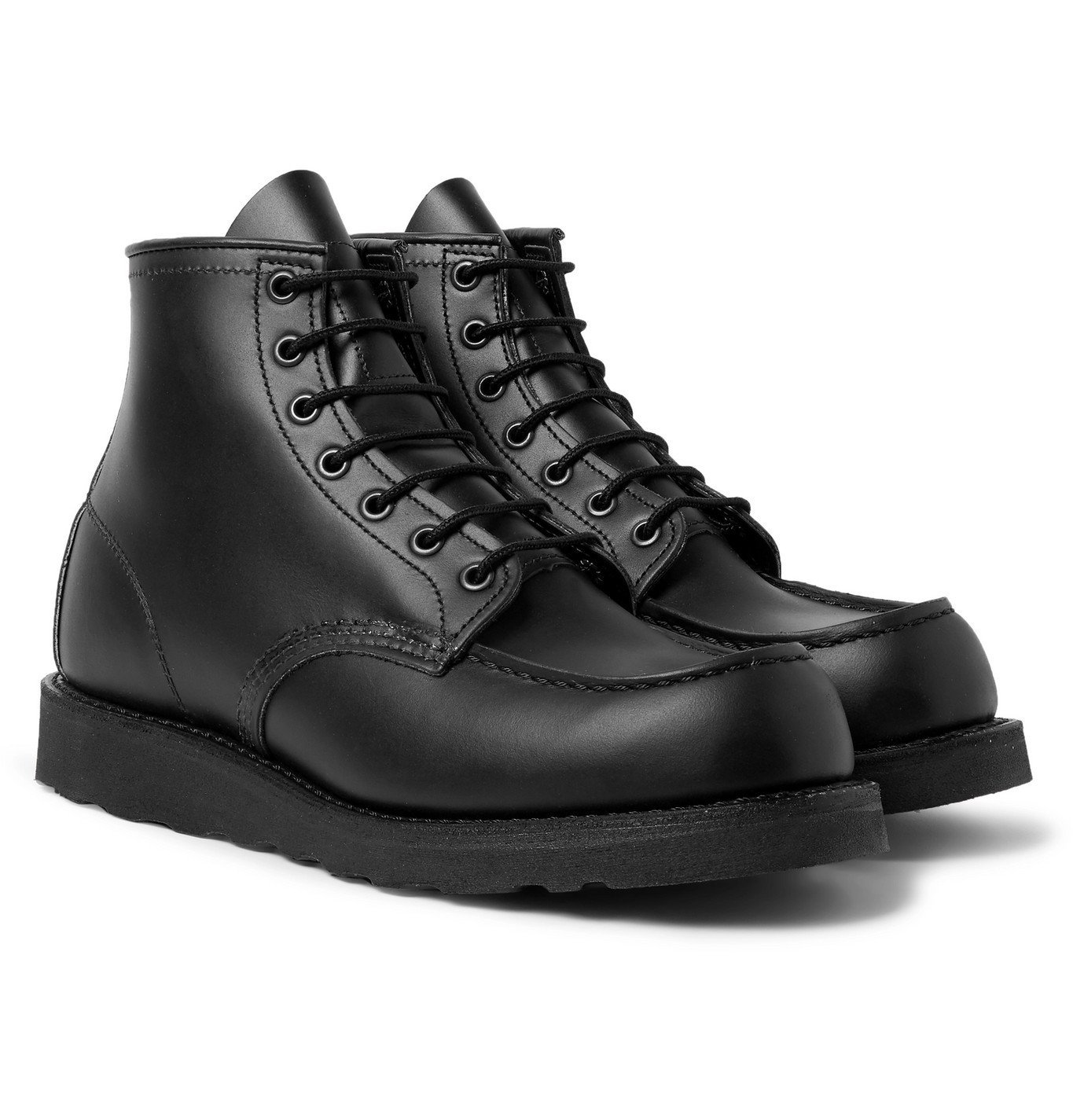 Photo: Red Wing Shoes - 8137 Moc Leather Boots - Black